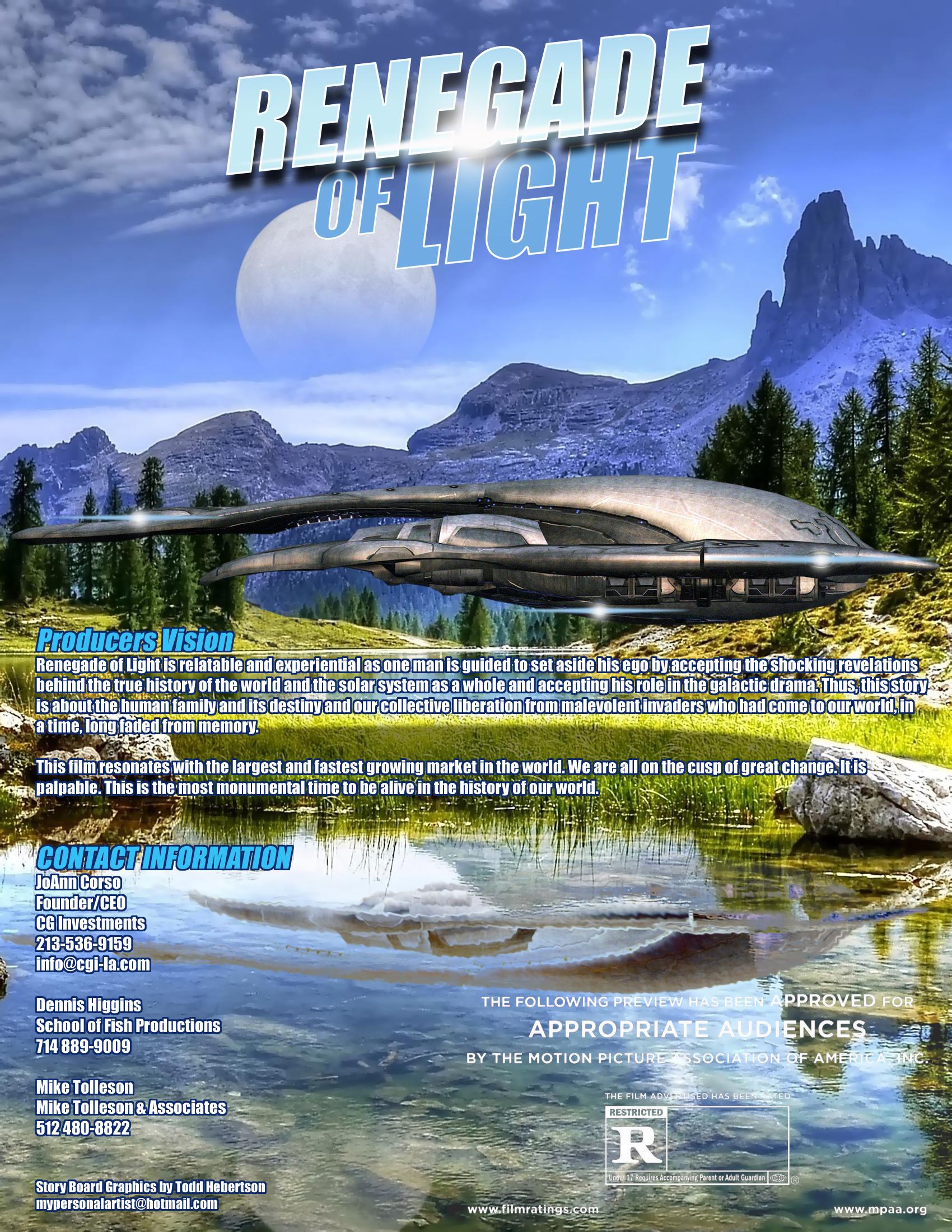Renegade of Light Business Presentation
